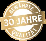 30 Jahre Qualität